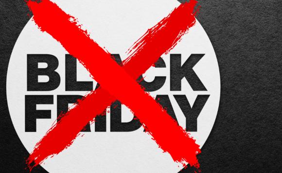 Ik zeg NEE tegen Black Friday!